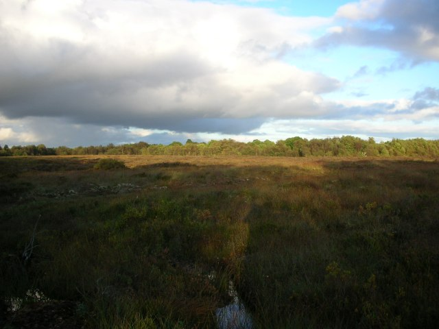 Clouds and a beautiful bog in County Leitrim